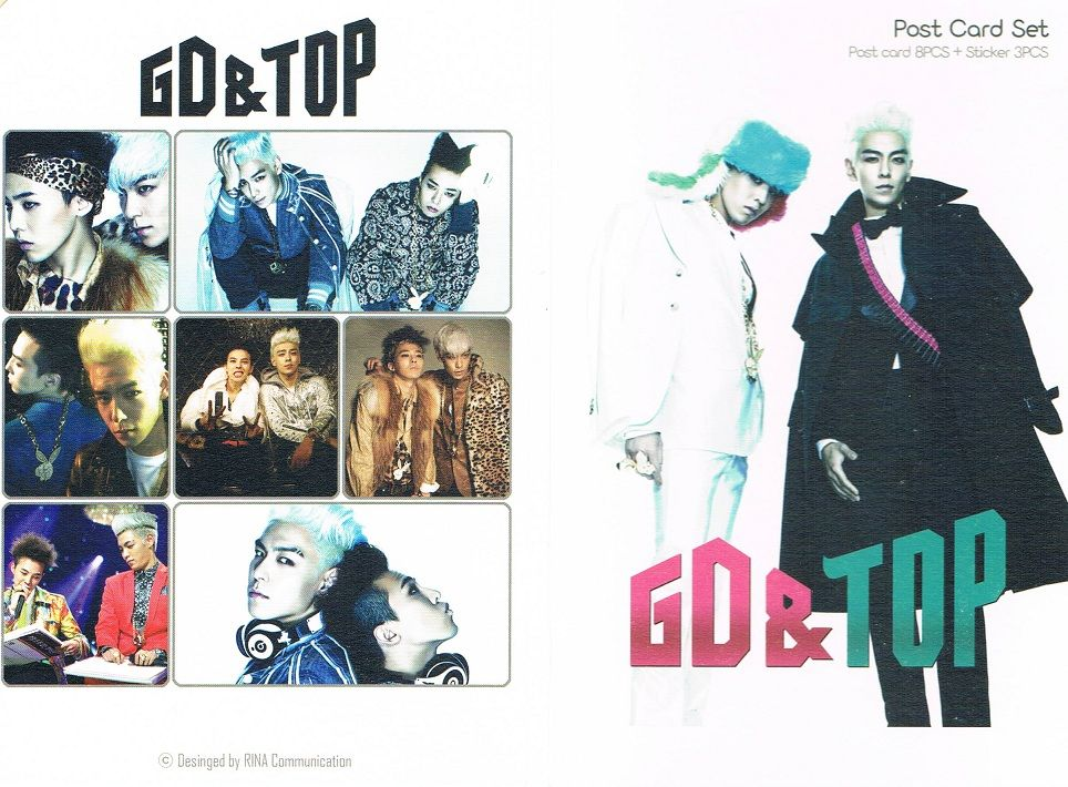BIGBANG G-DRAGON TOP ハガキセット
